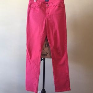 NYDJ hot pink jeans size 4 (see measurements)